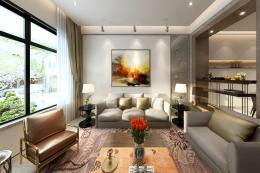 现代风格室内全景案例